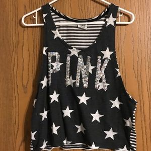 Victoria's Secret PINK blingy tank top